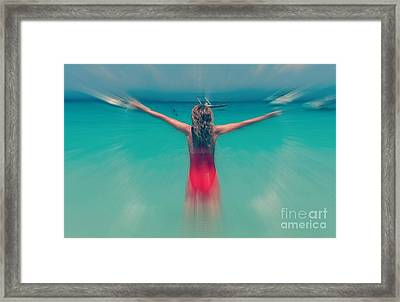 The Conquest Of Self Framed Print