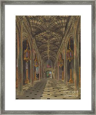 The Conservatory, Carlton House Framed Print