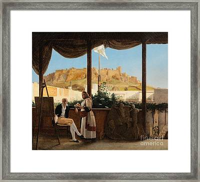 The Consul Louis Fauvel Painting Framed Print by MotionAge Designs