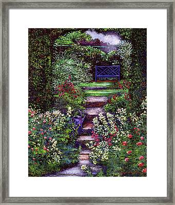 The Contemplation Place Framed Print by David Lloyd Glover