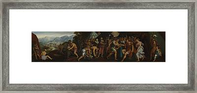 The Continence Of Scipio Framed Print