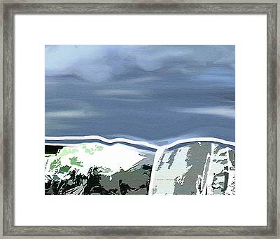 The Continental Divide Framed Print