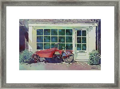 The Contraption At Number Two Framed Print by Jenny Armitage