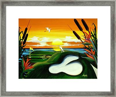 The Conundrum Framed Print by Adele Moscaritolo