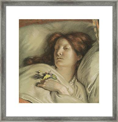The Convalescent Framed Print