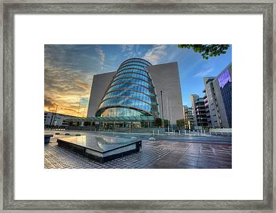 The Convention Centre - Dublin Framed Print