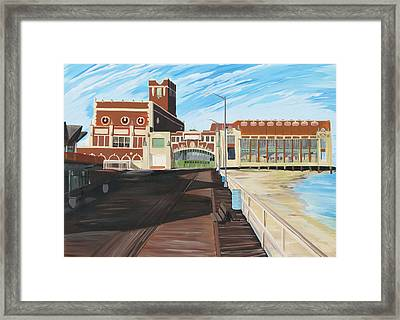 The Convention Hall  Asbury Park  Framed Print by Patricia Arroyo