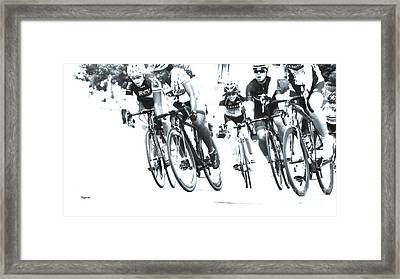 The Convergence  Framed Print by Steven Digman