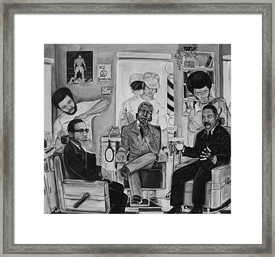 ''the Conversation'' Framed Print by Mccormick  Arts
