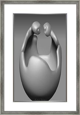 'the Conversation' Framed Print