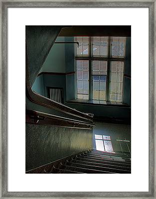 The Conversation Windows Framed Print by David Patterson