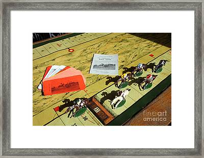 The Conyngham Cup Race Board Game Framed Print by Ros Drinkwater
