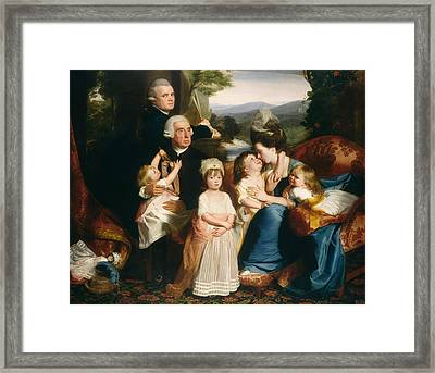 The Copley Family Framed Print