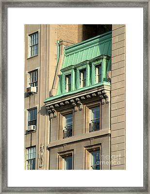 Framed Print featuring the photograph The Copper Attic by RC DeWinter