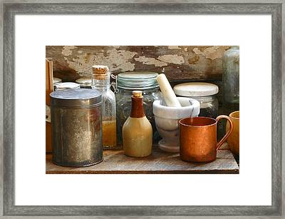 The Copper Cup Framed Print
