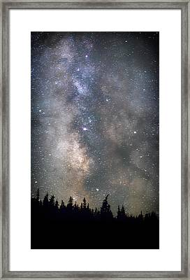 Framed Print featuring the photograph The Core by Cat Connor
