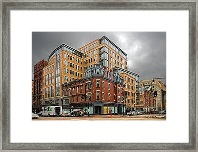 The Corner Framed Print by Christopher Holmes