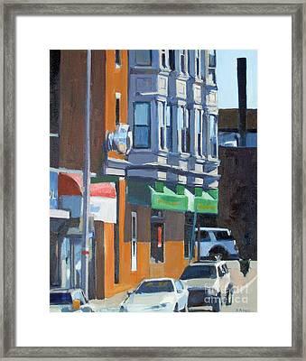 The Corner Framed Print by Deb Putnam
