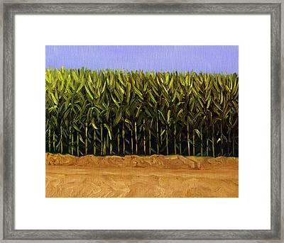 The Cornfield Framed Print by Karyn Robinson