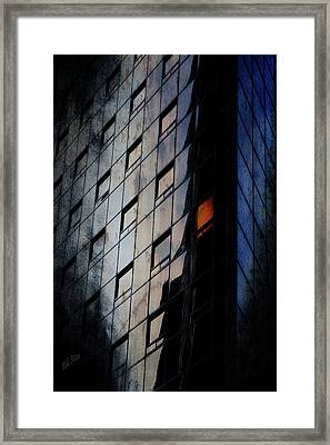 The Corporate Batcave Framed Print