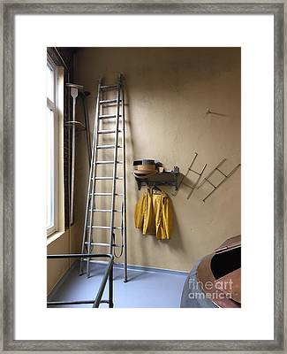 The Corporate Ladder Framed Print