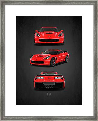 The Corvette Z06 Framed Print