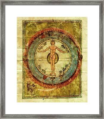 The Cosmic Egg Framed Print