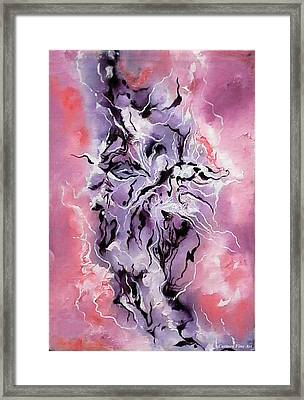 The Cosmic Muse Framed Print