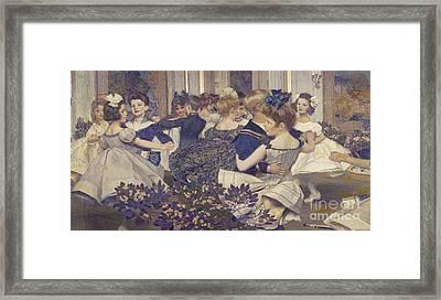 The Cotillion Framed Print