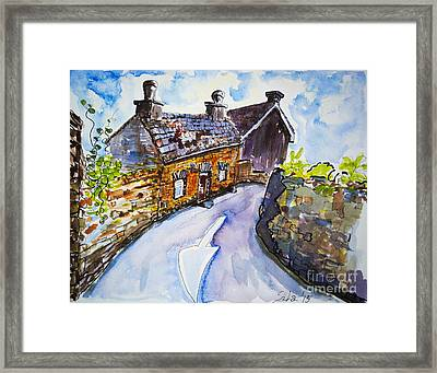 The Cottage Kinsale Framed Print by Lidija Ivanek - SiLa