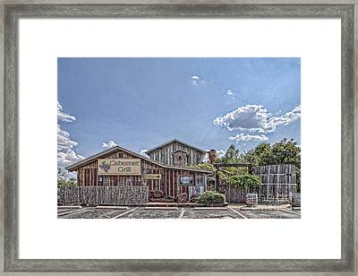 The Cotton Gin Village Framed Print