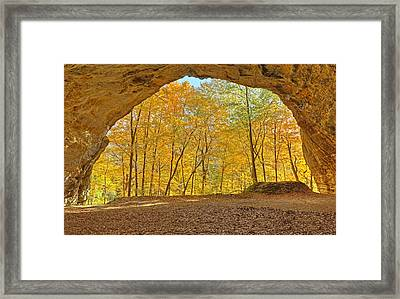 The Council Overhang Framed Print