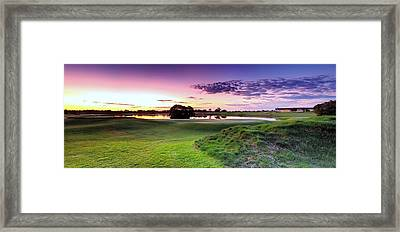 The Country Club Framed Print