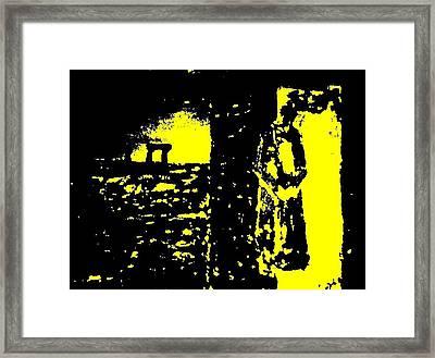 The Couple A'la Klimt Framed Print by Teo Spiller