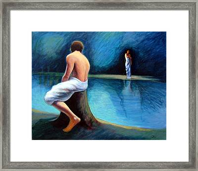The Couple Framed Print by James LeGros
