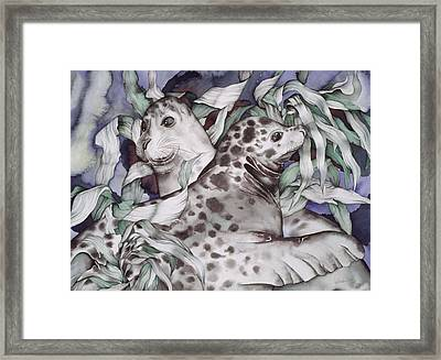 The Couple Framed Print by Liduine Bekman