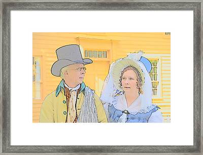The Couple Framed Print by Robert Nelson