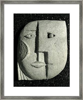 The Couple Framed Print by Vladimir Kozma