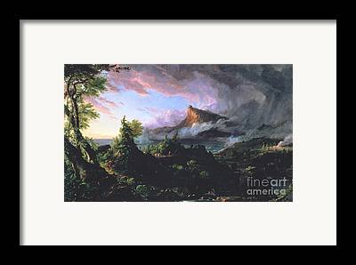 Tipi Paintings Framed Prints
