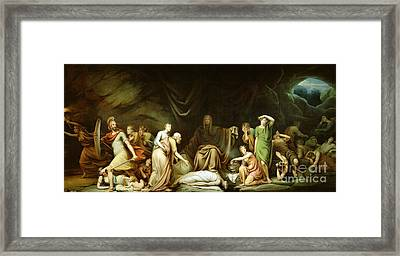 The Court Of Death Framed Print