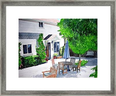 The Court Of Three Sisters Framed Print