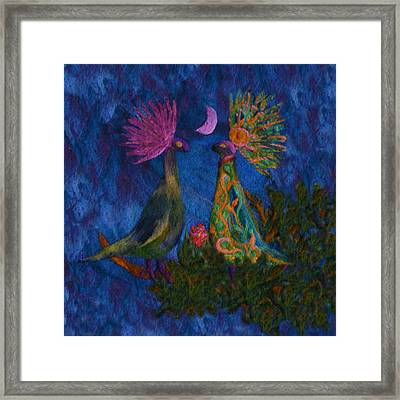 The Courtship - Illuminated Framed Print