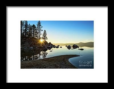Tahoe Framed Prints