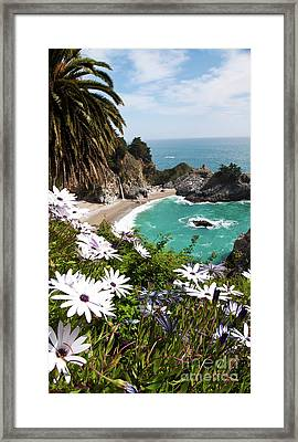 The Cove Framed Print by Digartz - Thom Williams