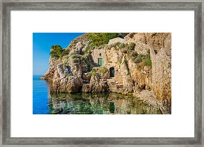 The Cove Framed Print