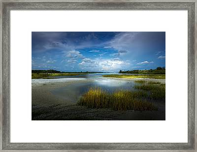 The Cove Framed Print by Marvin Spates