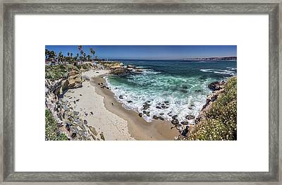 The Cove Framed Print by Peter Tellone