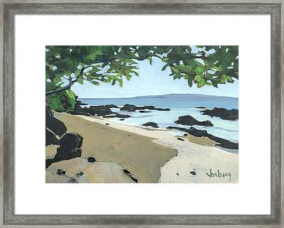 The Cove Framed Print by Stacy Vosberg