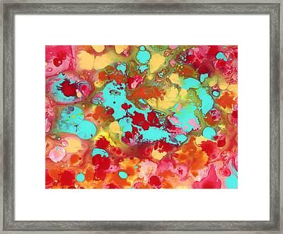 The Cow Jumped Over The Moon 2 Framed Print by Amy Vangsgard