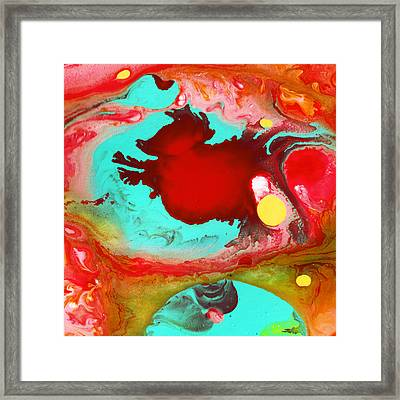 The Cow Jumped Over The Moon 4 Framed Print by Amy Vangsgard